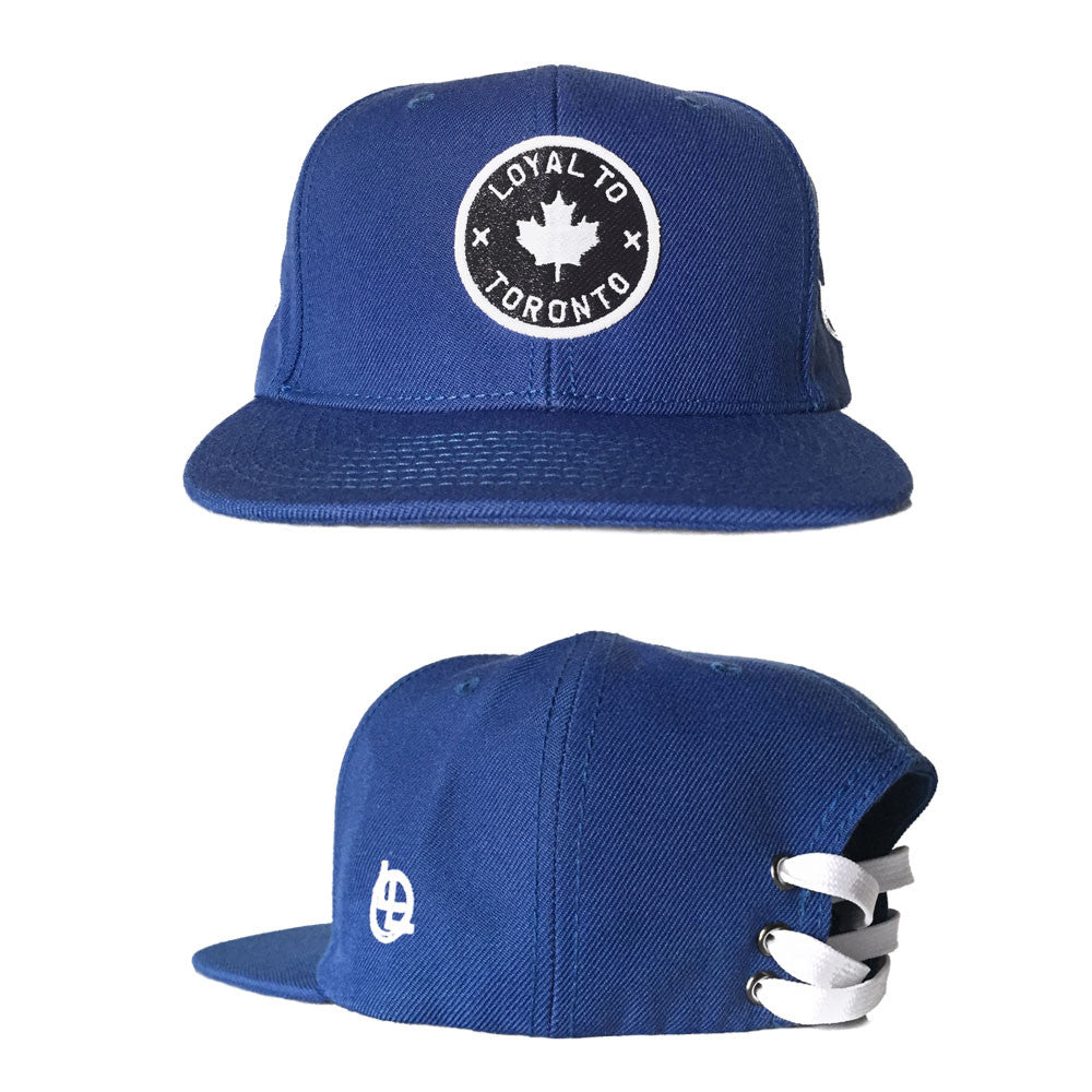 LOYAL to TORONTO Laceback (Blue) - LOYAL to a TEE