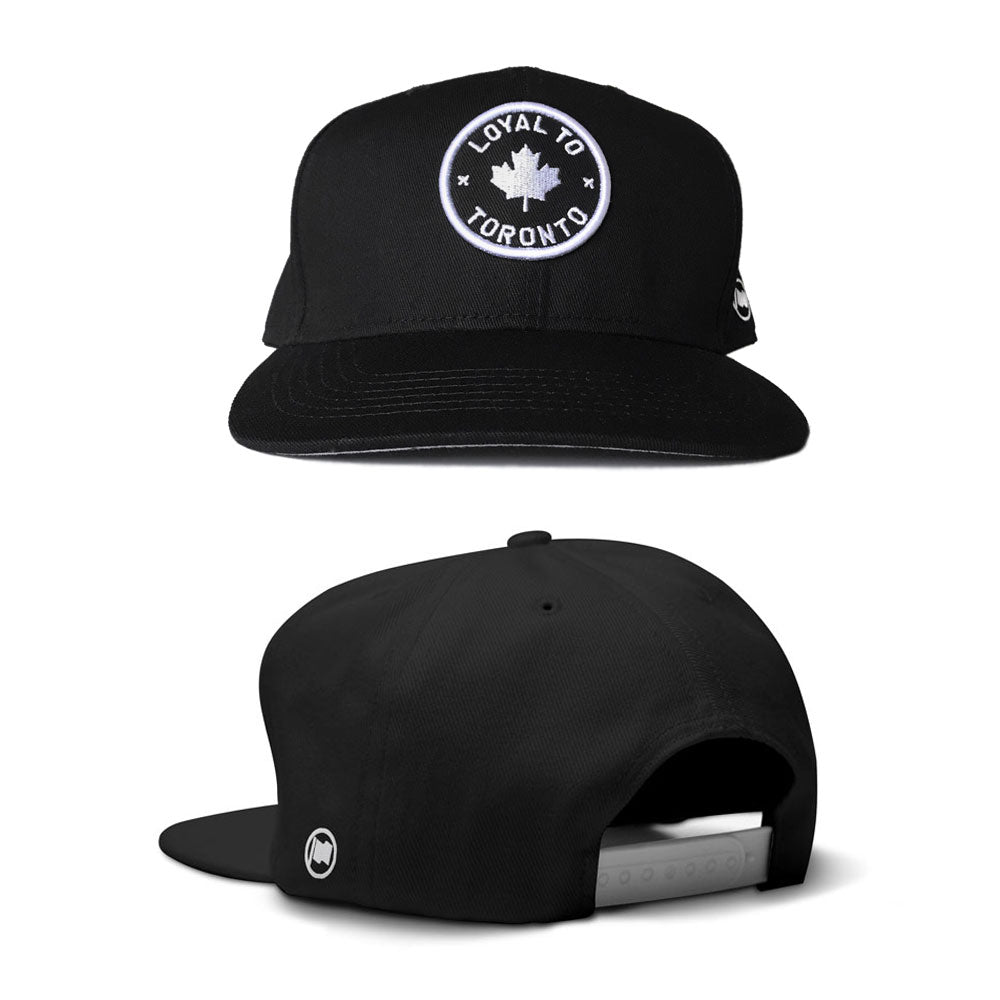 LOYAL to TORONTO Snapback (Black) - LOYAL to a TEE