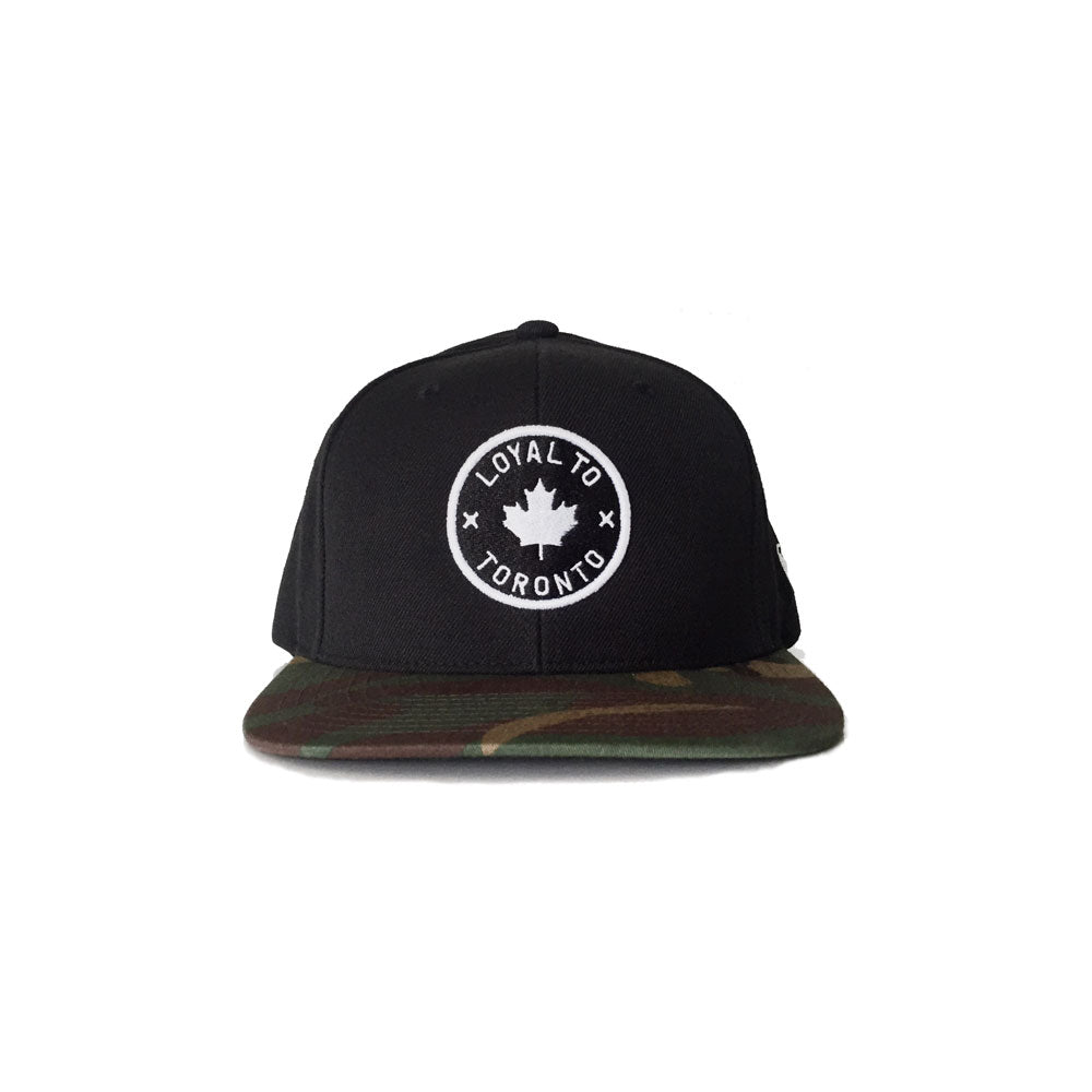 LOYAL to TORONTO Snapback (Camo) - LOYAL to a TEE