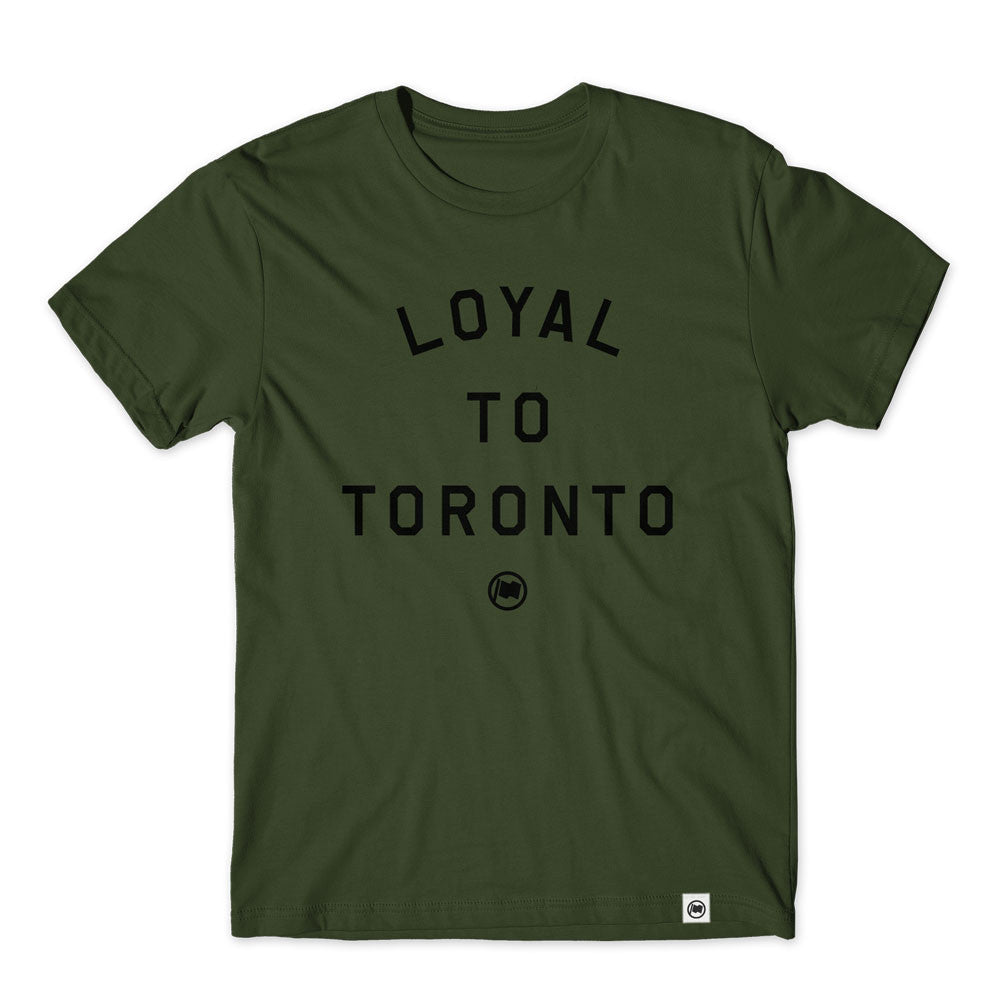 LOYAL to TORONTO Unisex Tee (Olive) - LOYAL to a TEE