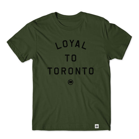 LOYAL to TORONTO Dad Hat (Black)
