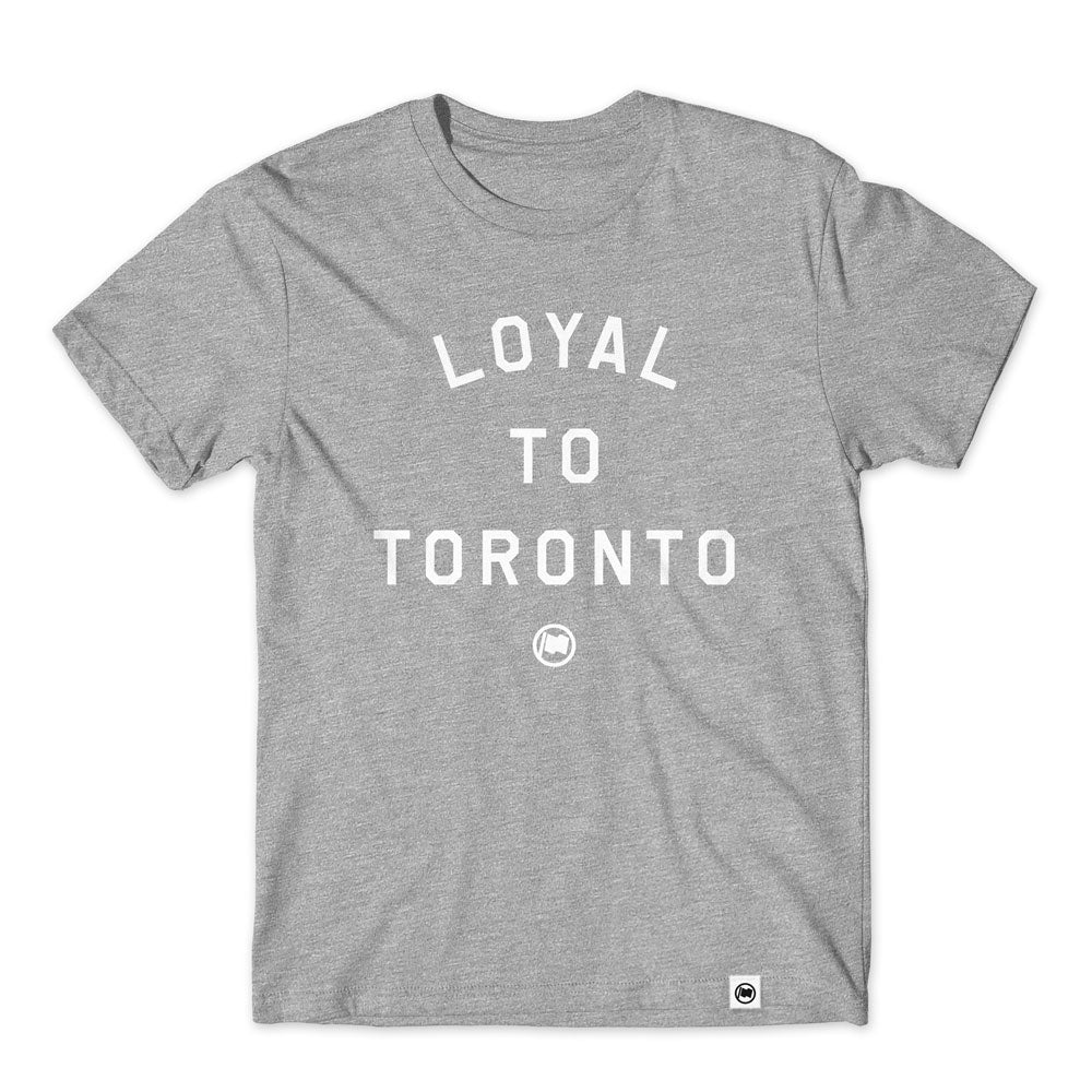LOYAL to TORONTO Unisex Tee (Heather Grey) - LOYAL to a TEE