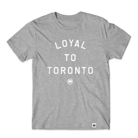 LOYAL to TORONTO Unisex French Terry Crewneck (Heather Navy)