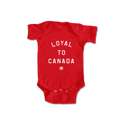 LOYAL to TORONTO Baby Onesie (Navy)