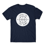 LOYAL TO BASKETBALL Unisex Tee (Navy) - LOYAL to a TEE