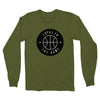 LOYAL TO BASKETBALL Unisex Long Sleeve Tee (Olive) - LOYAL to a TEE
