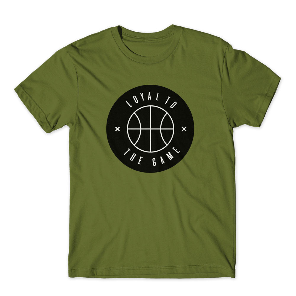 LOYAL TO BASKETBALL Unisex Tee (Olive) - LOYAL to a TEE