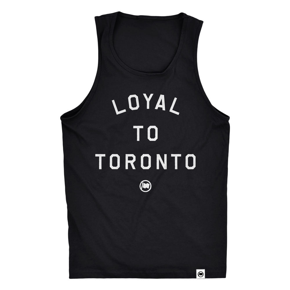 LOYAL to TORONTO Unisex Tank (Black) - LOYAL to a TEE