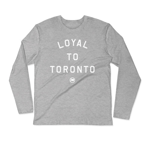 LOYAL to TORONTO Pocket Unisex Hoodie (Navy)