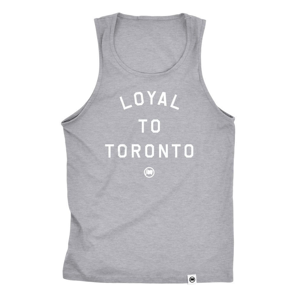 LOYAL to TORONTO Unisex Tank (Heather Grey) - LOYAL to a TEE