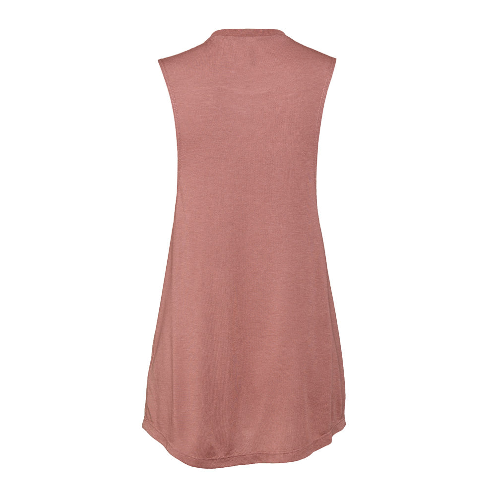 LOYAL to TORONTO Women's Flowy Muscle Tank (Mauve) - LOYAL to a TEE