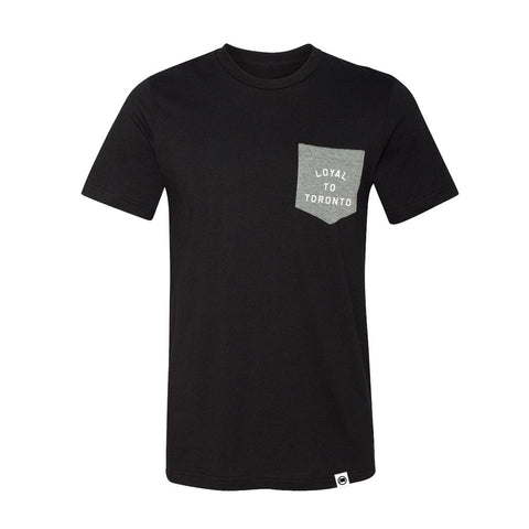 Toronto Basketball City Unisex Tee (Black)