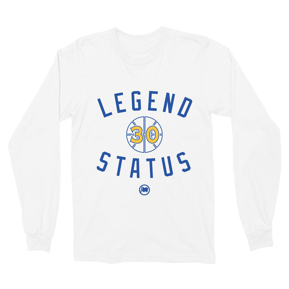 Legend SC30 Long Sleeve Tee (White) - LOYAL to a TEE