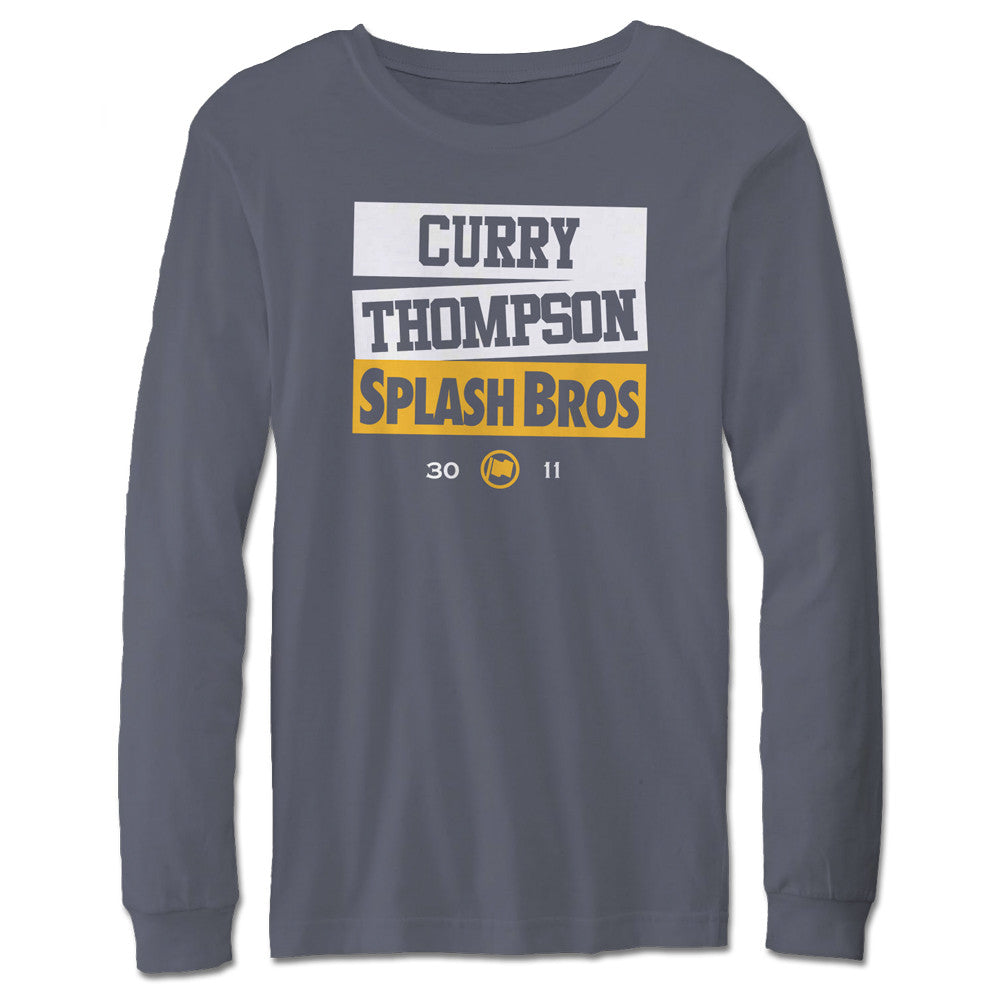 Splash Bros Long Sleeve Tee (Slate) - LOYAL to a TEE