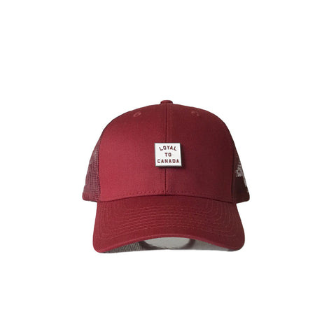 Hoops Strapback (Red)