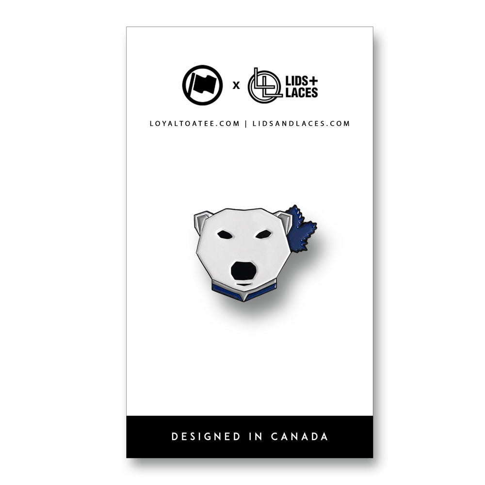 Leaf Bear Pin - LOYAL to a TEE