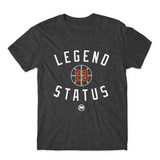 Legend LBJ23 Tee (Charcoal Heather) - LOYAL to a TEE