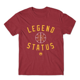 Legend LBJ23 Tee (Wine Heather) - LOYAL to a TEE