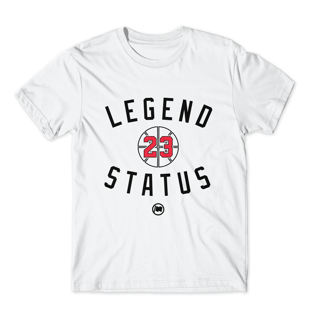 Legend MJ23 Tee (White) - LOYAL to a TEE