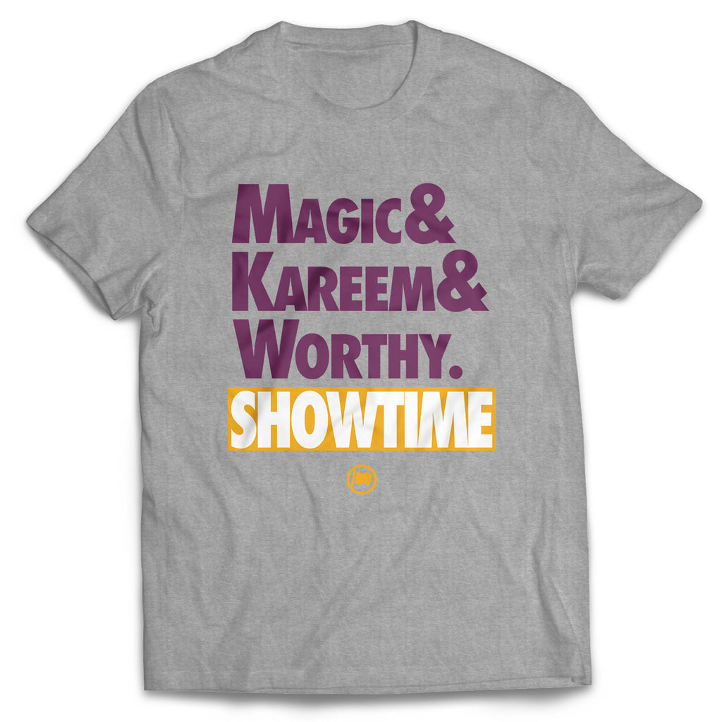 Showtime Tee (Heather Grey) - LOYAL to a TEE