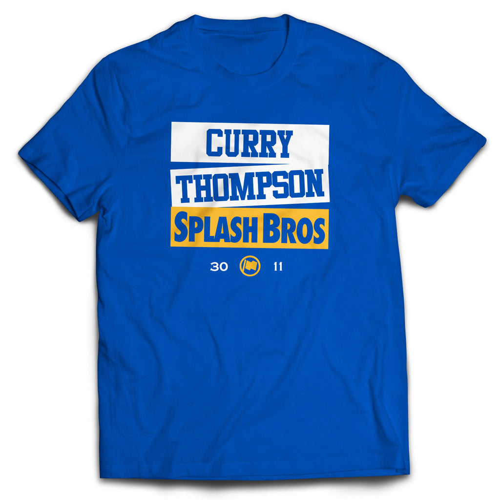 Splash Bros Tee (Blue) - LOYAL to a TEE
