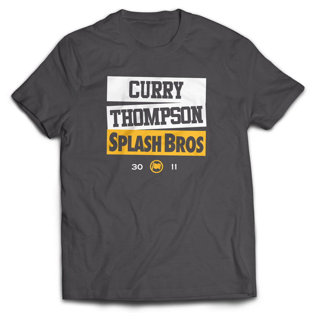 Splash Bros Tee (Slate) - LOYAL to a TEE