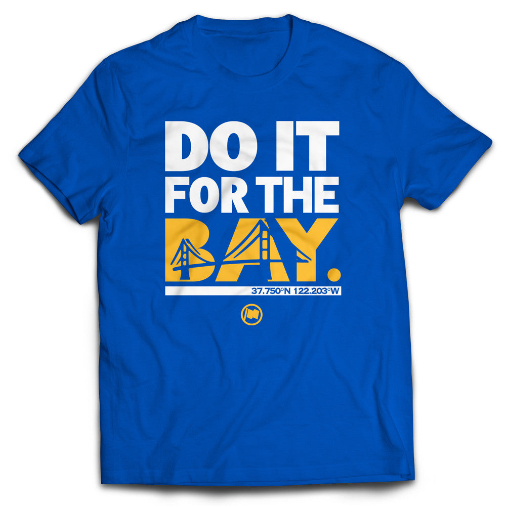 For The Bay Tee (Blue) - LOYAL to a TEE