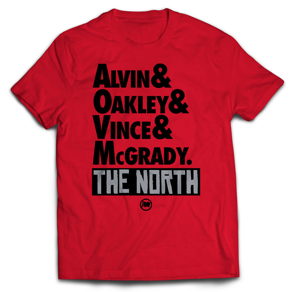 The North Tee (Red) - LOYAL to a TEE