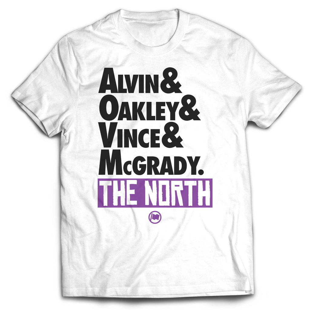 The North Tee (White) - LOYAL to a TEE