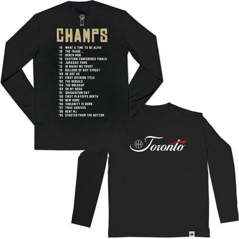 LOYAL to TORONTO Pocket Women's Cropped Hoodie (Black)