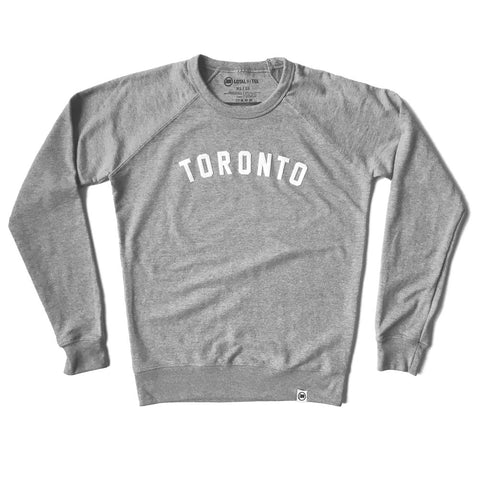 LOYAL to TORONTO Unisex Long Sleeve Tee (Charcoal Heather)