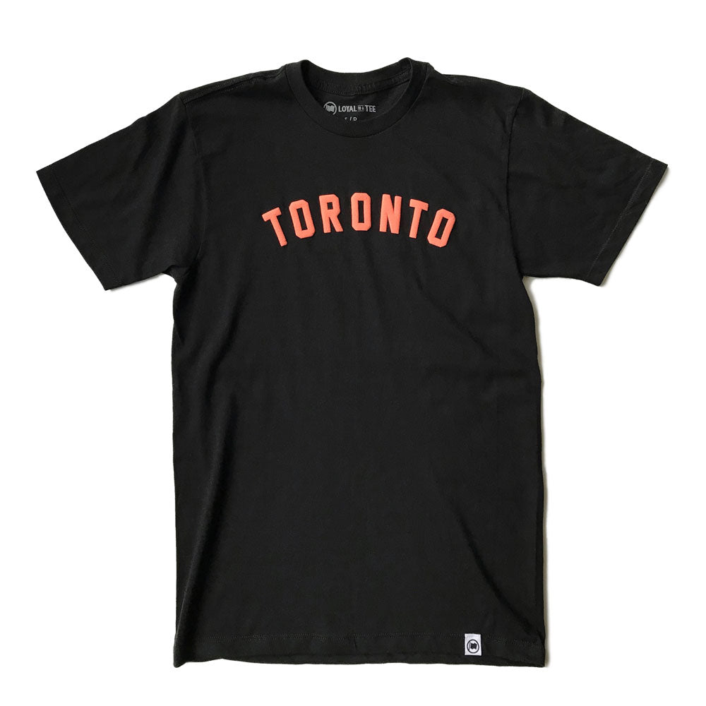 Toronto Puff Unisex Tee (Black) - LOYAL to a TEE
