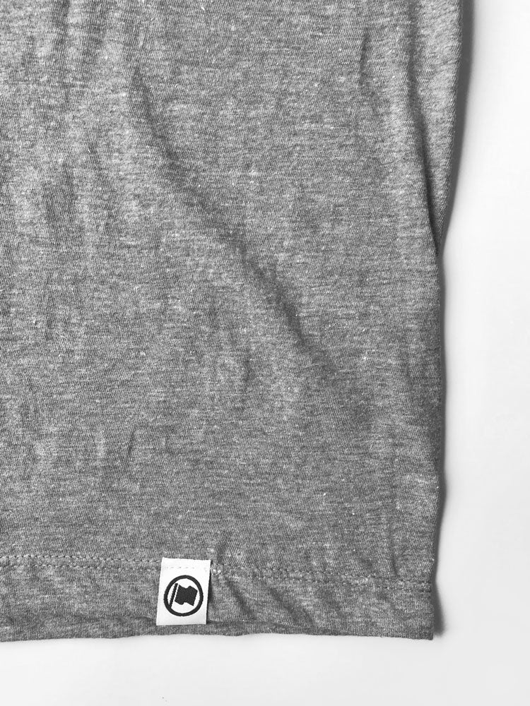 Toronto Puff Unisex Tee (Heather Graphite) - LOYAL to a TEE