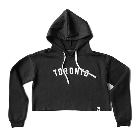 LOYAL to TORONTO Unisex French Terry Hoodie (Black)