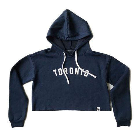 Toronto Puff Unisex French Terry Sweater (Navy)