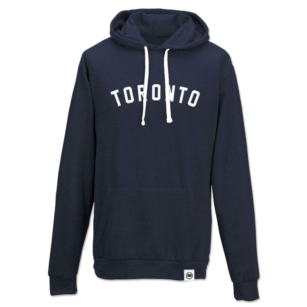 Toronto Puff Unisex Hoodie (Navy) - LOYAL to a TEE