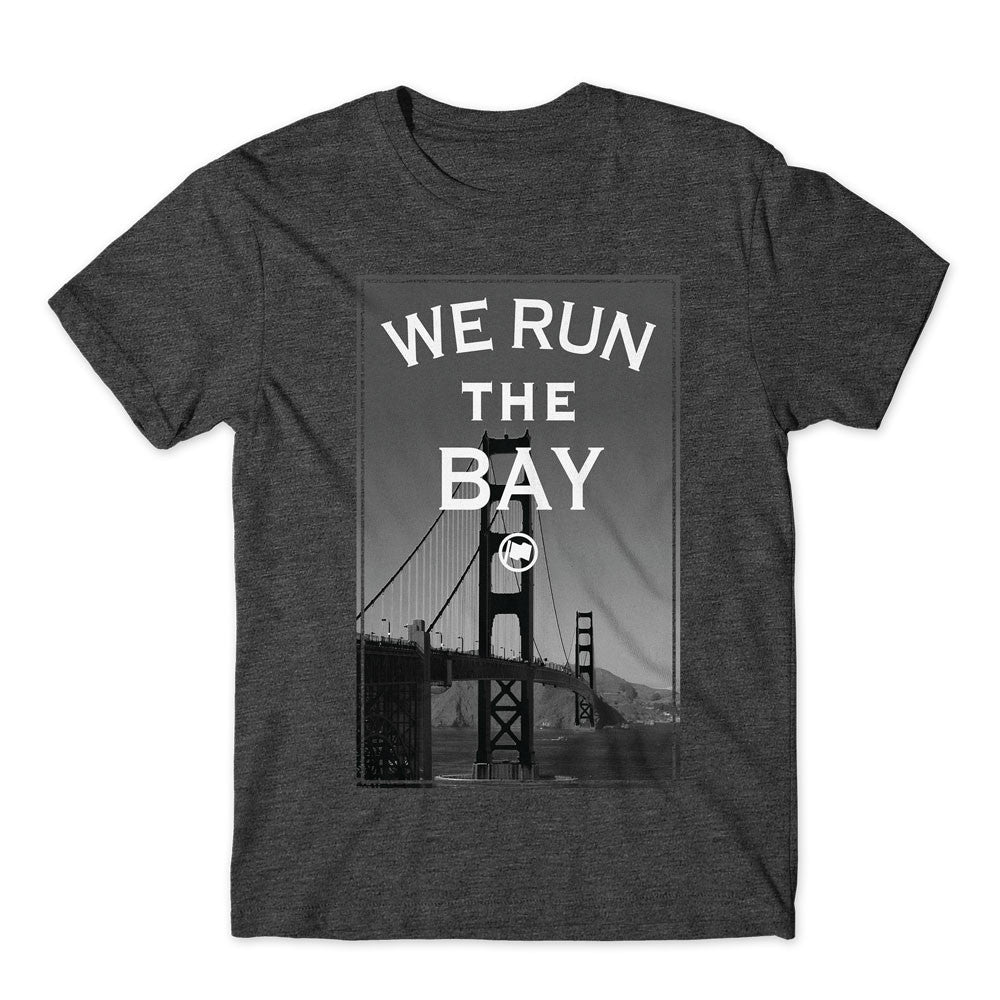 Run The Bay Unisex Tee (Charcoal Heather) - LOYAL to a TEE