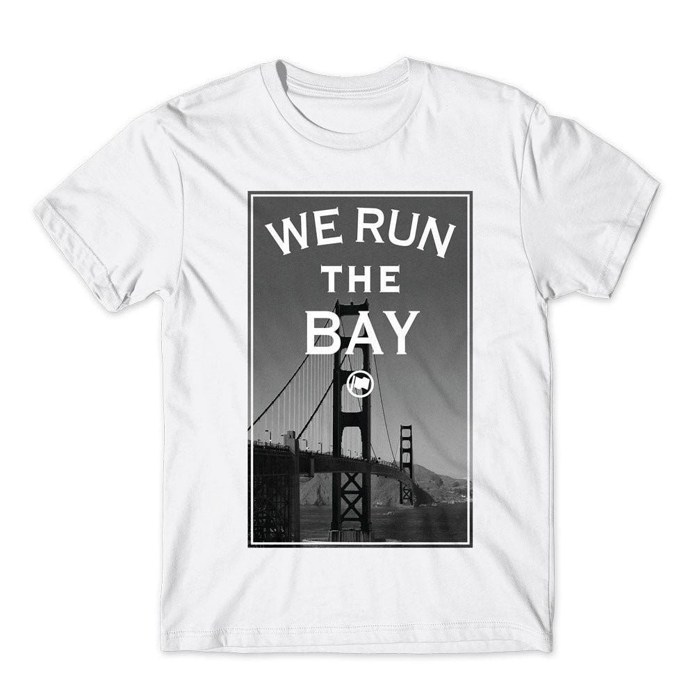 Run The Bay Tee (White) - LOYAL to a TEE