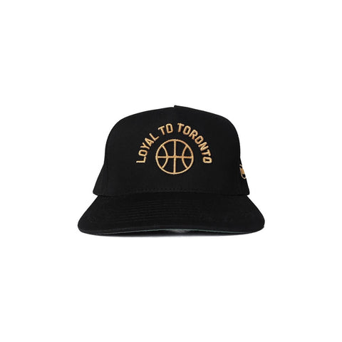 LOYAL to TORONTO Basketball Unisex Tee (Black)
