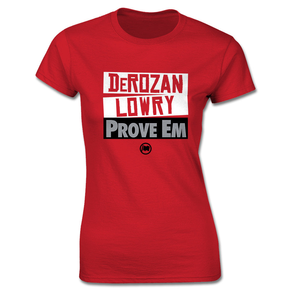 ProveEm Women's Tee (Red) - LOYAL to a TEE