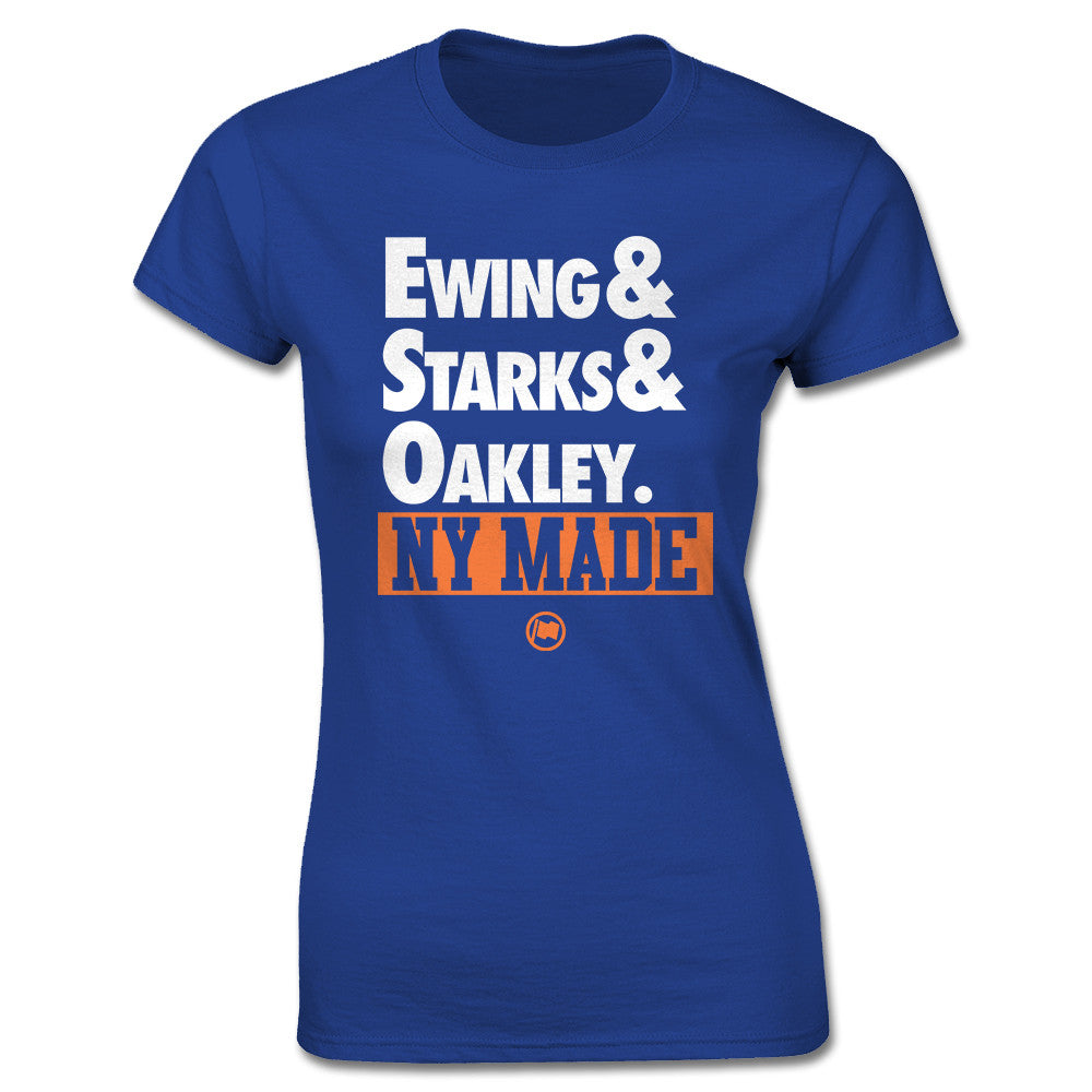 NY Made Women's Tee (Blue) - LOYAL to a TEE
