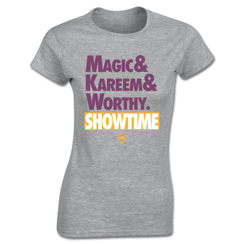 Showtime Women's Tee (Heather Grey) - LOYAL to a TEE