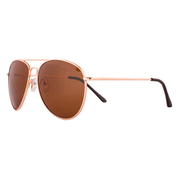 "Percept - ""The Executive"" - Polarized Aviator Glasses"