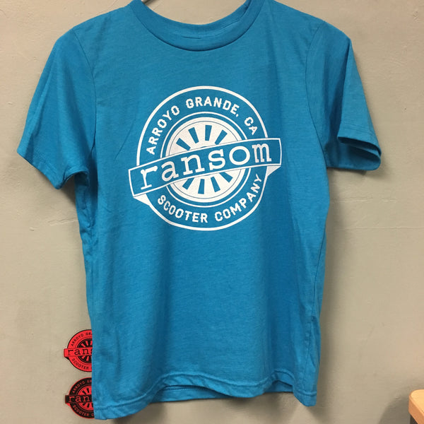 ransom scooters Youth T-Shirt | Turquoise