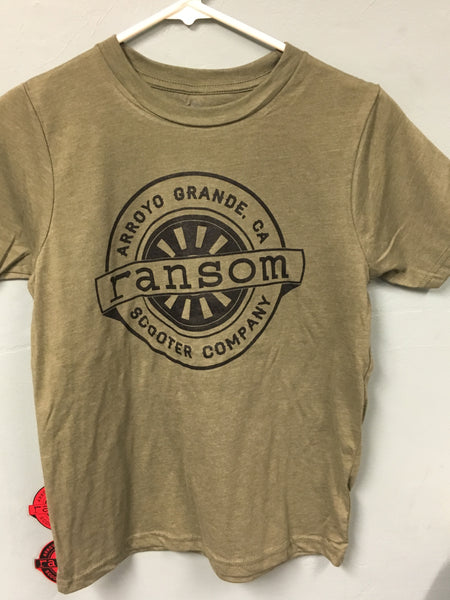 ransom scooters Youth T-Shirt | Military Green
