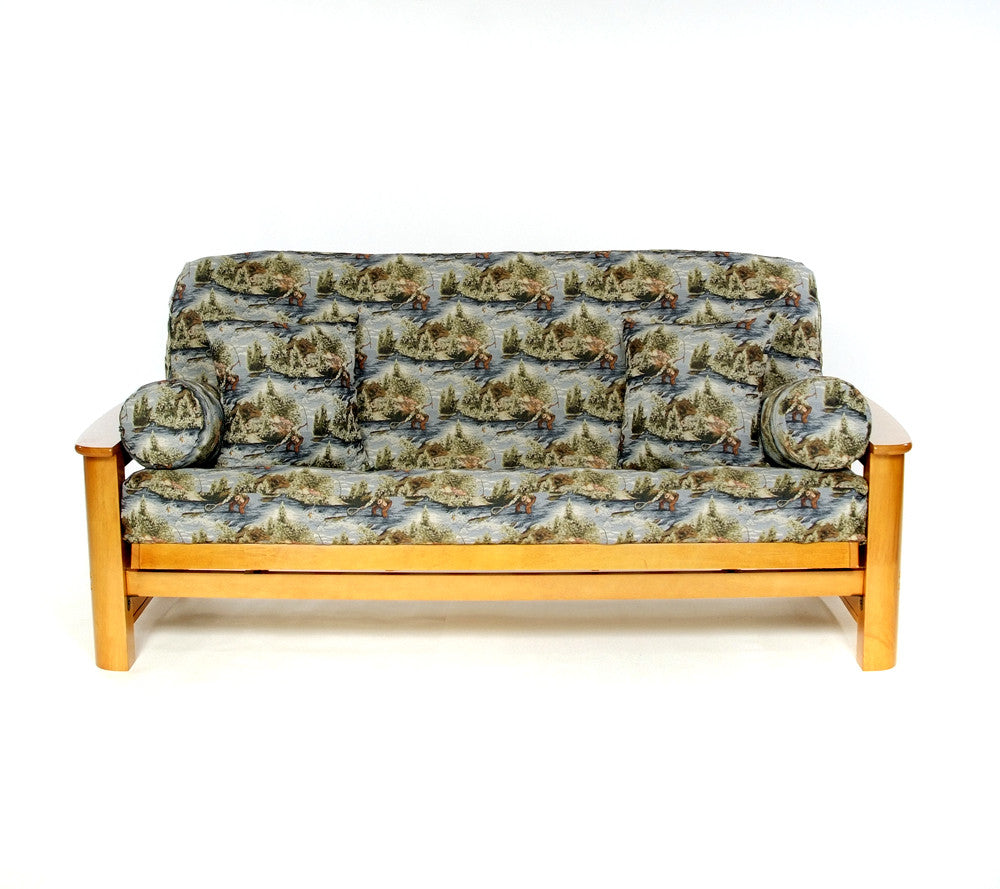 Swell Gone Fishing Futon Cover Alphanode Cool Chair Designs And Ideas Alphanodeonline