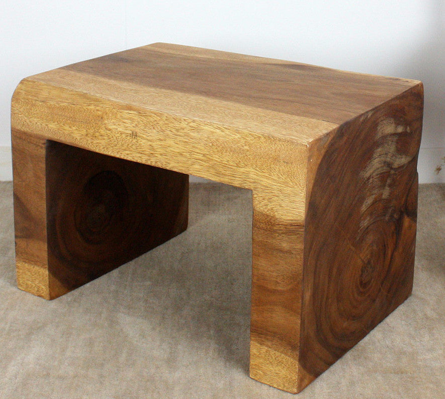 Home Products Waterfall Monkey Pod Wood End Table. Waterfall End Table;  Waterfall End Table ...