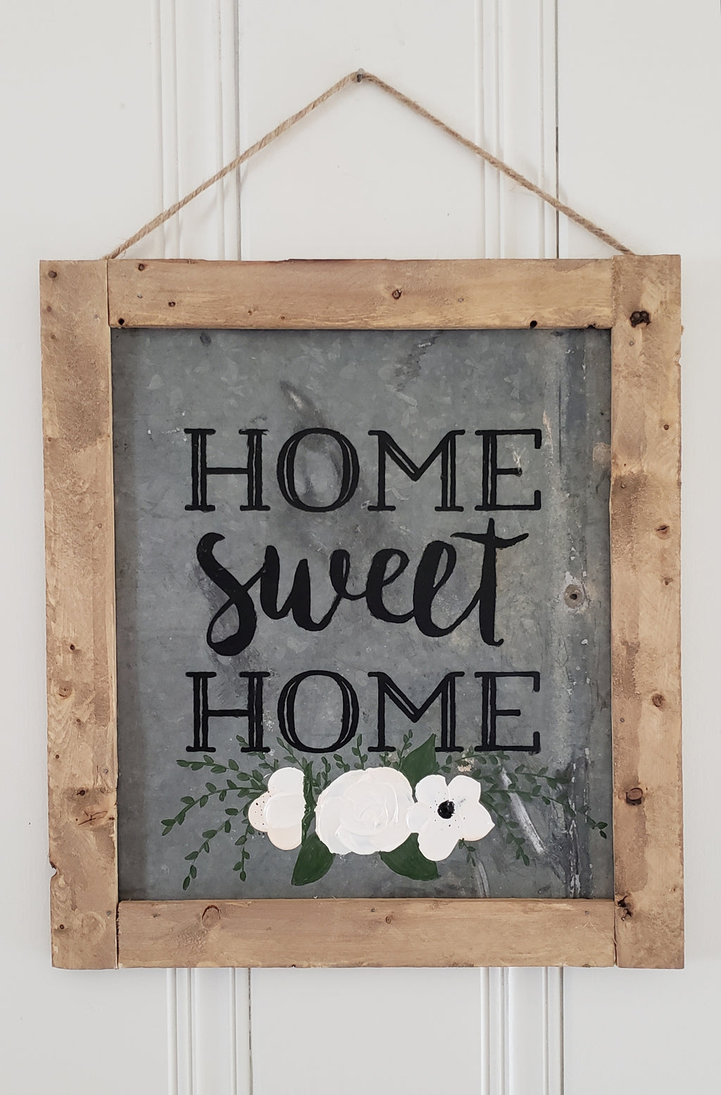 Home Sweet Home Tin Sign