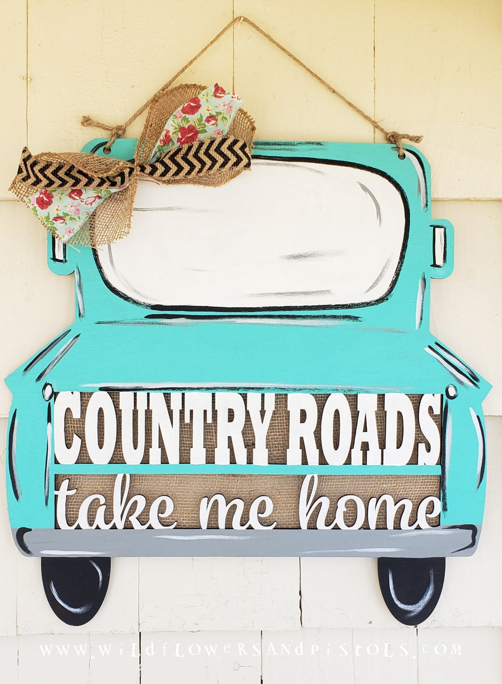 Country Roads Truck Door Hanger