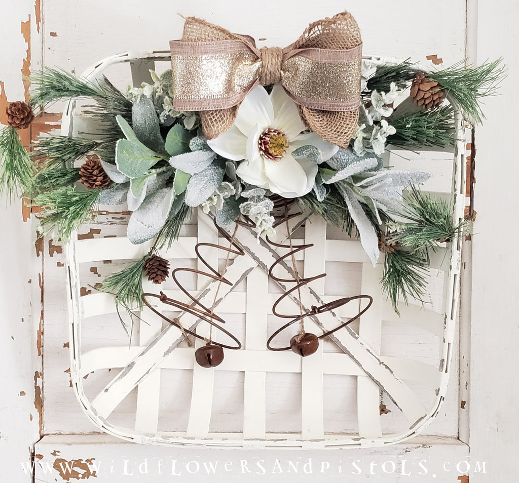 Magnolia Jingle Bell Wreath